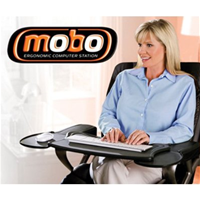Mobo Chair Mount Ergonomic Tray