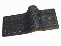 Compact Waterpoof Flexible Keyboard