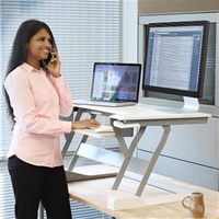 WorkFit-T & TL Sit-Stand Desktop Workstation