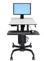 WorkFit-C Sit-Stand Workstation