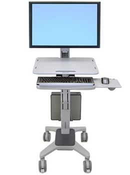 Workfit C Single Ld Sit Stand Workstation